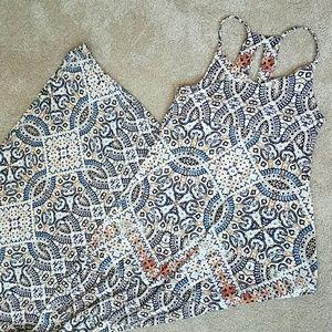 Cynthia rowley Aztec maxi dress